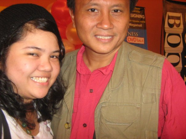 with Howie Severino
