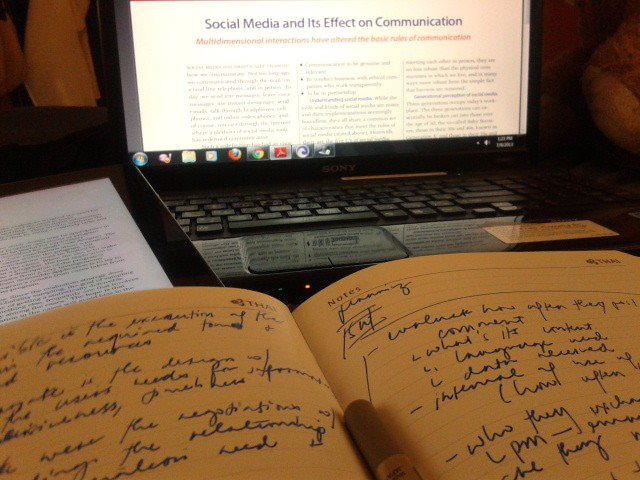 Writing the Thesis...