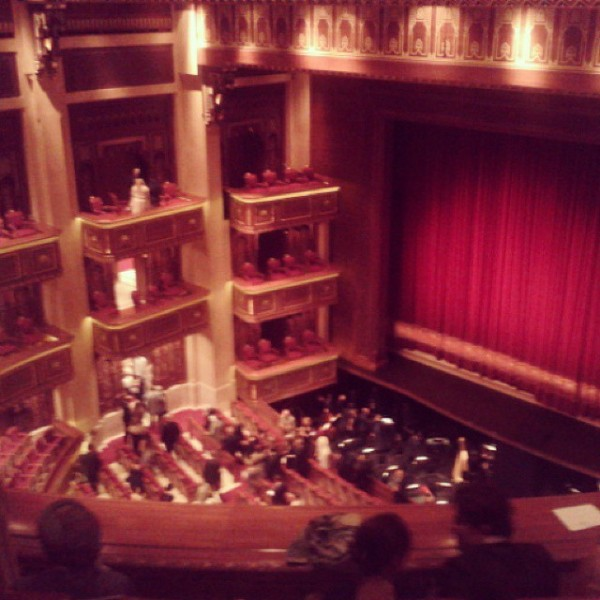 ... a Puccini Opera at the Royal Opera House...
