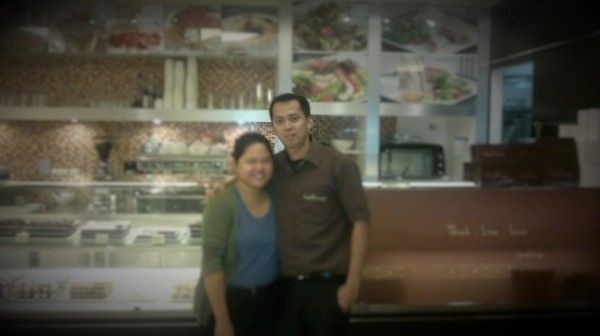 Me and Kuya Kulet in Muscat two years ago.