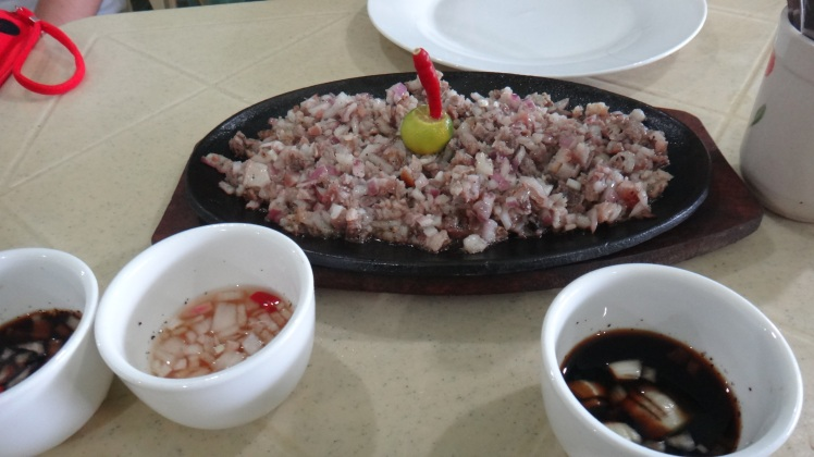 The original Sisig of Pampanga.