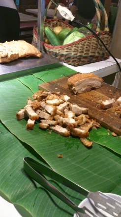 Bagnet is crispy-fried pork belly.